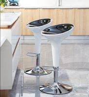 Bar chair European lifting stool Modern simple bar stool Mobile phone shop stool Bar chair Household high bar chair