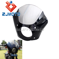 Headlamp Headlight Fairing For Seventy Two Iron 883 2012 2015 Gauntlet Fairing For Harley Sportster Super Low XL883L 2011 2014