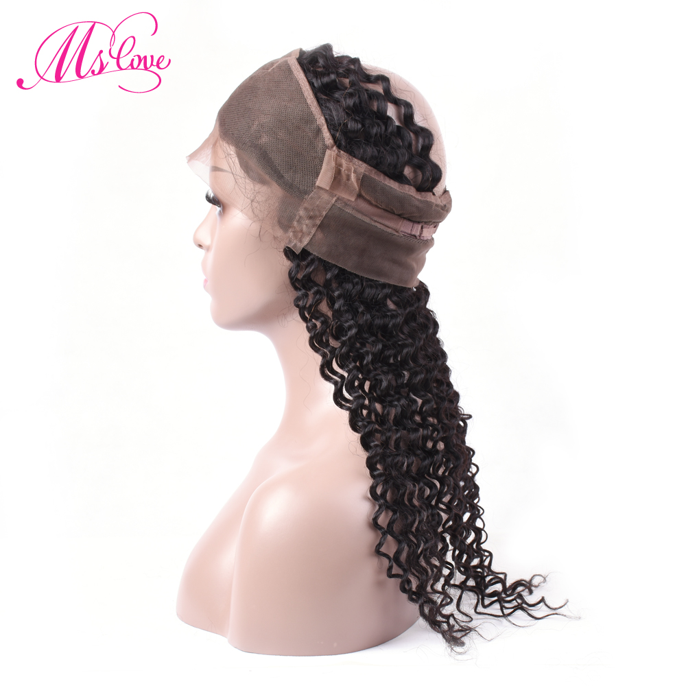 Ms Love Hair Malaysian Water Wave Bundles With Closure 360 - Skönhet och hälsa - Foto 4