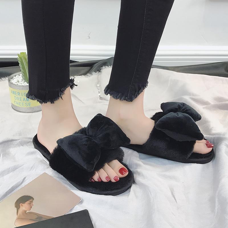 kaqi Automne Flops Flip Pantufa Upd223 Black Flanelle Nouvelle Base D'hiver De Pantoufles Confortable Chaussures Plat blue Mignon D'intérieur Femmes red nv8N0mw