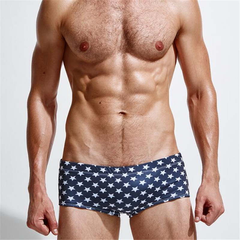 Topdudes.com - Men's High Quality Sexy Fashion Low Waist Swim Shorts