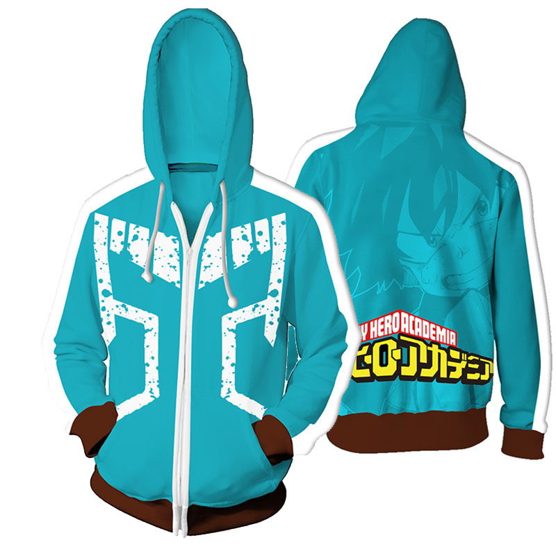 Cosroad Boku No My Hero Academia Midoriya Hoodies Izuku Todoroki Shoto Cosplay Costume Men Women Sweatshirt Jackets Coat0 (19)
