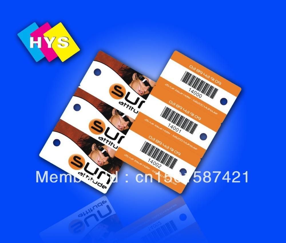 Custom Combo Card And  Precut Smart Card  For Shop (precut Smart Card)