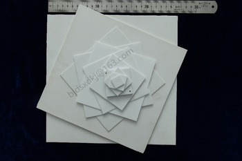 96% Alumina Ceramic Plate,Ceramic Plate, Alumina Ceramic substrates 109*109*1.0