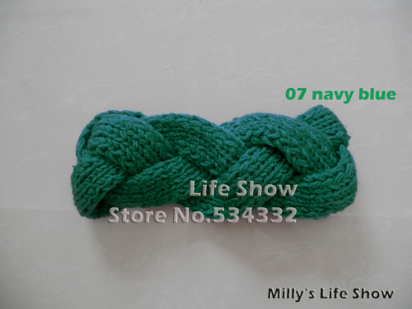Fashion Headband Headwear Knitted Accessories  Crochet winter Handmade Band Milly's Life Show