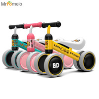 MrPomelo Baby Cattoon Mini Balance Bike Toy Toddler Walker Trainer Without Pedals For 1 3 Year