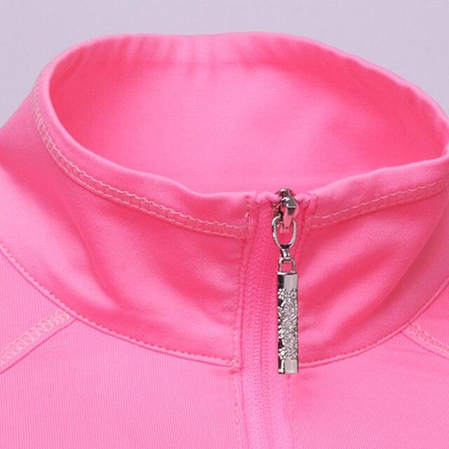 Golf Shirt Long Sleeve Golf Shirts Women Tshirt 2018 Sports Wear Sun Protection Clothing Bottoming High Colla Korean Polo Shirt 3