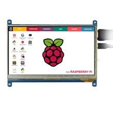 Elecrow Framboise Pi 3 7 pouce Écran Tactile HDMI Interface 1024*600 LCD Moniteur D'affichage pour Raspberry Pi 3 2 B B + Banane Pi