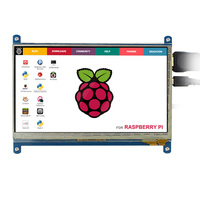 Elecrow Raspberry Pi 3 7 Inch Touch Screen HDMI 1024 600 LCD Display Monitor Raspberry Pi