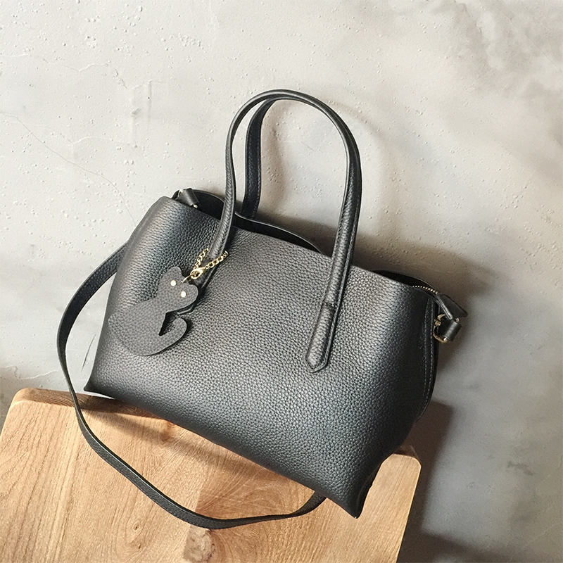 brand bag large big totes bag genuine cow leather handbag shoulder crossbody bag women high quality bao bao green black brown high quality authentic famous polo golf double clothing bag men travel golf shoes bag custom handbag large capacity45 26 34 cm