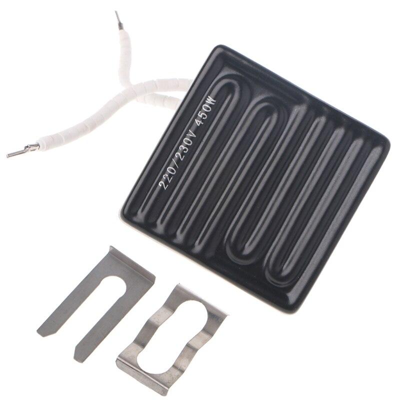 80x80mm 450W Infrared Top Ceramic Heating Plate For BGA Station IR6000 IR6500 IR-PRO-SC original ir9000 top ceramic plate 250w elstein bottom heating plate 1000w