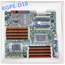 KGPE D16 AMD G34 arayüzü çift Snapdragon sunucu ana kartı desteği çift ekran Crossfire