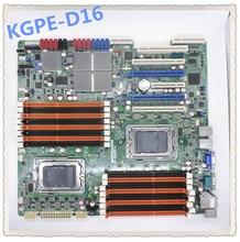 KGPE D16 amd g34 interface dupla snapdragon servidor placa mãe suporte dupla gráficos crossfire