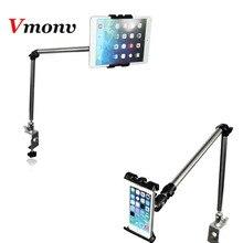 Vmonv multifunções 360 graus flexível escalável braço tablet suporte para 4 a 10 Polegada telefone iphone tablet ipad espreguiçadeira cama suporte