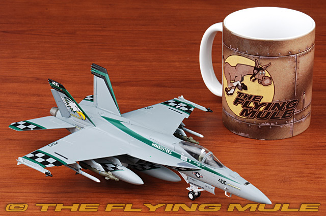Witty 1:72 US F-18E Hornet fighter aircraft model alloy VFA-195
