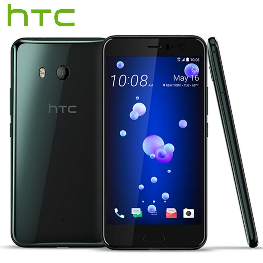 D'origine HTC U11 Snapdragon 835 Octa Core IP67 Étanche 4 gb RAM 64 gb ROM 5.5 pouce 2560x1440 p 16MP 3000 mah 4g LTE Mobile Téléphone