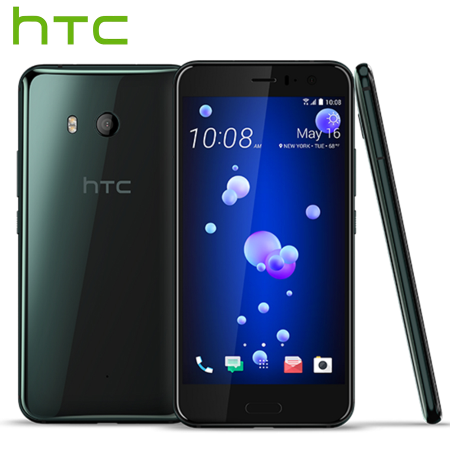 Originale HTC U11 Snapdragon 835 Octa Core IP67 Impermeabile 4 gb di RAM 64 gb ROM 5.5 pollice 2560x1440 p 16MP 3000 mah 4g LTE Mobile Phone