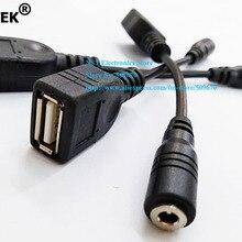 NCHTEK DC 3,5x1,35 мм Гнездовой разъем для USB гнездо питания Соединительный кабель/шнур/ /25 шт