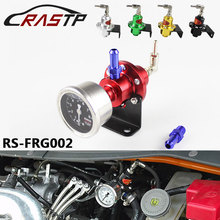 Universal Adjustable SARD Fuel Pressure Regulator With Original Gauge And Instructions FRG002