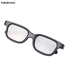 Kebidumei 3D Glasses Polarized Real Vision Glasses Stereo Viewer Game Movies for LG for Sony for Sharp for Smart TV for 3D Print