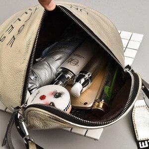 Image 5 - 11,11 bolsos de lujo Bolsos De Mujer bolsos de diseño para mujer bolsos de mensajero con correa de letra bolso de hombro para mujer W604
