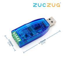 Промышленный USB в RS485 преобразователь обновление защиты RS485 конвертер Совместимость V2.0 Стандартный RS-485 Соединительный Модуль платы