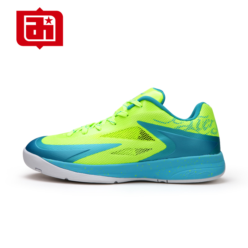 ФОТО 2016 Men Basketball Shoes High Quality China Brand Lightweight  Sneakers Outdoor Anti Slip Athletic Sports Shoes BS1010A
