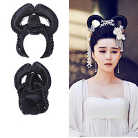 queen hair products chinese empress hair for women fairy dance head wear vintage accessory hair shaped fairy cosplay accessories