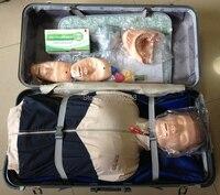 Полукорпус CPR обучающий манекен, простой тип CPR обучающая модель