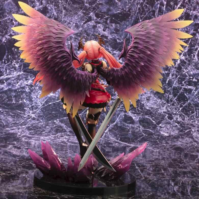 Kotobukiya anime jogo raiva de bahamut anjo escuro olivia 1/8 escala pré-pintado pvc figura modelo brinquedos