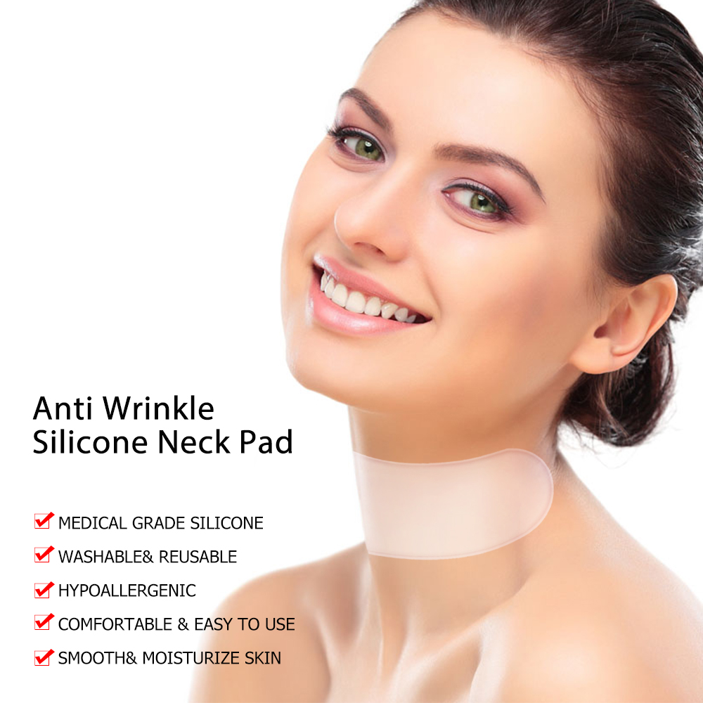 Anti Wrinkle Neck Pad Silicone Neck Wrinkles Remover Pads Ageless Neck Skin Lift Anti Aging Treatment Silicone Pad Drop Ship New (3)