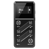 LanHui 80 Hours Lossless Sound MP3 Player 8GB Music Player with Pedometer High Resolution Audio Music Player