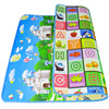 180 150 1cm Thick Educational Baby Play Mat Kid Toy Carpet Playmat Gym Children Rug Soft