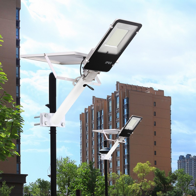 30 LED Wasserdichte Solar Wall Street Light Outdoor Garten RC Lampe 20 30W