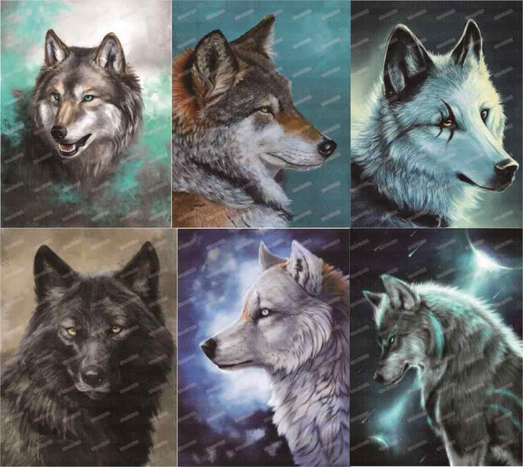 Detail Feedback Questions About 2019 5d Diamond Painting Wolf