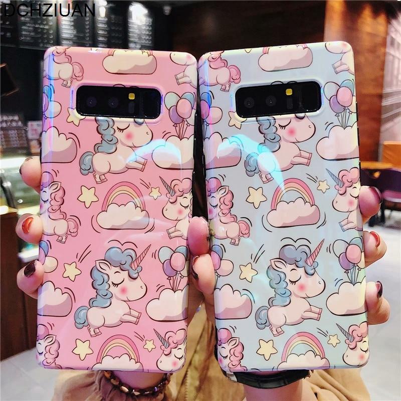 Galaxy S10 Cartoon Case Cute Unicorn