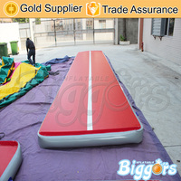 Biggors Fast Delivery Inflatable Air Track Mat For Sale Factory Price China Trampoline Tumble Gym Mat