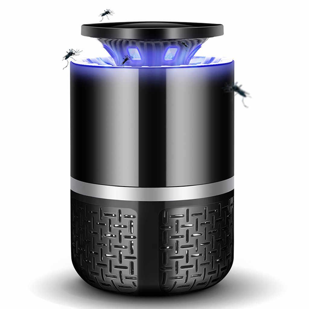 USB электрические лампы против насекомых освещение муха Жук Zapper убийца насекомых-комаров освещение домашний светодиодный светильник ловушка лампа борьба с вредителями