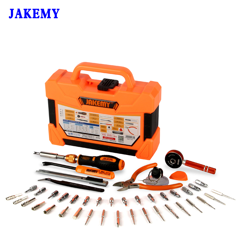 47 in 1 Profession Repair Tools Kit Precision Screwdriver Set Sockets Ratchet Wrenches Knife Laptop Phone Household Tool Set