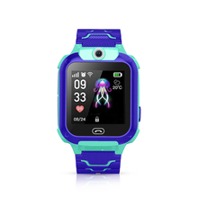 T20 Kids Smart Watch Waterproof, GPS Tracker Phone Watch for Children with SOS Call Camera Touch Screen Game Compatible original soocoo ps2 1 axis adjustable gryo stabiliser compatible with all sprots action camera and smart phone