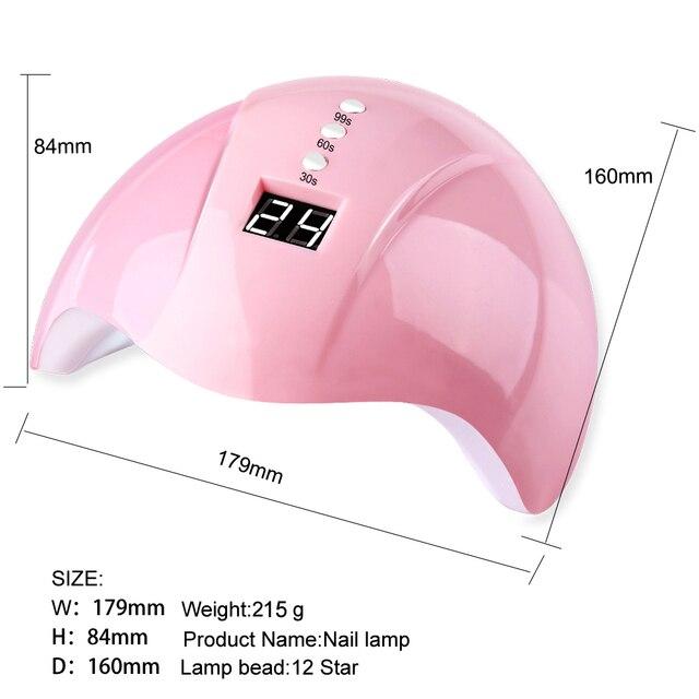 Nail Gel Dryer - 36W  3