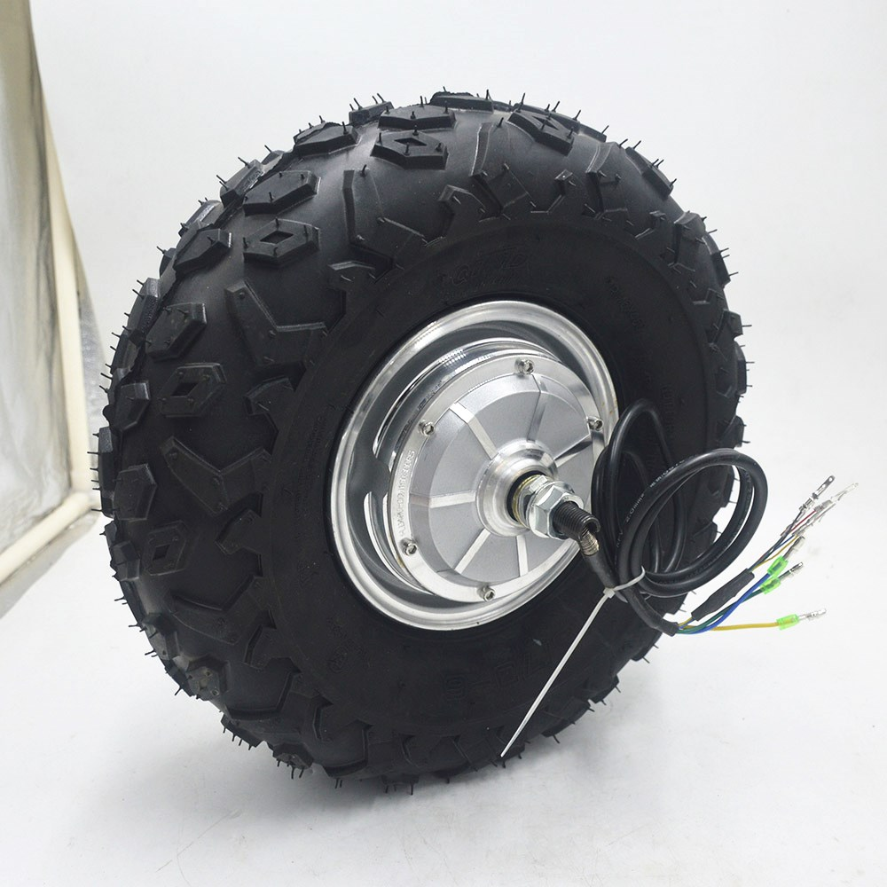 24 V 36 V 48 V 250 W 350 W 500 W brouette électrique motoréducteur tout Terrain brouette électrique kit roue 14.5 pouces