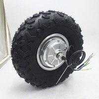 24V 36V 48V 250W 350W 500W Electric Wheelbarrow Gear Motor All Terrain Electric Wheelbarrow kit 14.5inch wheel