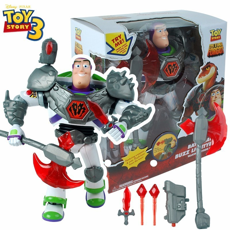 2018 New Toy Story 3 Buzz Lightyear Talking Woody Action Figures 43CM Cartoon Movie Dolls PVC Model Toy Children Gift With Voice elsadou toy story 3 aliens action figures 22cm action