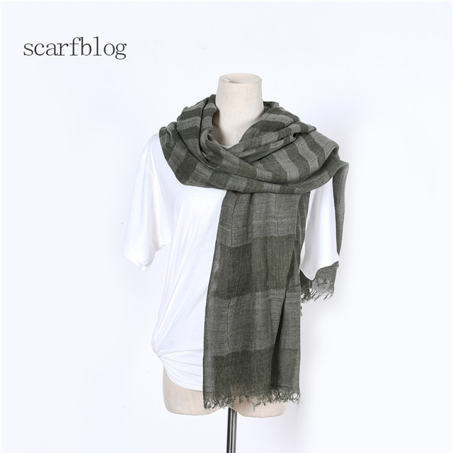 nuovo prodotto c4db0 f74ad US $15.88 |Scarfblog Women Scarf High Quality Modal Plaid Scarf Schal Shawl  Sciarpe Invernali Donna Sjaal Vrouwen Scarves Stoles Foulard-in Women's ...