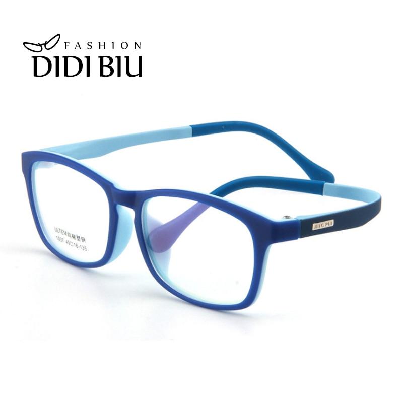 Children ULTEM PEI Glasses Keron Flexible Ultra Light Boys Grils Tungsten Prescription Optical Eye Glasses Frame Kid Grau CN1117