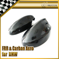 New 2pcs Side Mirror Cover Coupe For BMW 05-08 E90  3Series Carbon Fiber