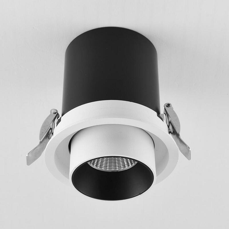 Up and down expansion 30W dimmable COB LED Downlight LED Ceiling Lamps AC110V AC240V Cabinet Spot Down light Home Lighting