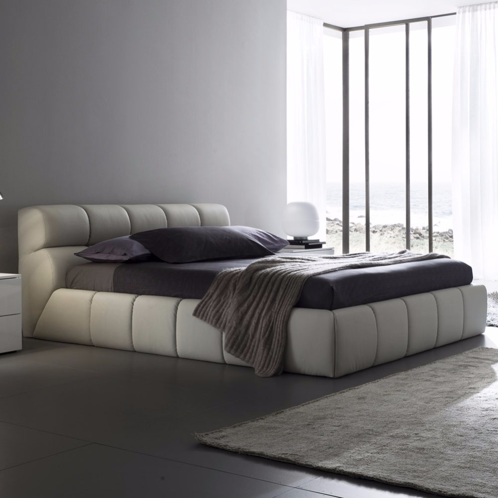compare prices on modern contemporary bed online shoppingbuy low  - contemporary modern leather bed king size bedroom furniture made inchina(china (mainland)