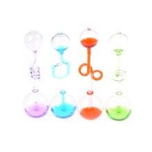 4 цвета 1 шт. детские развивающие игрушки измеритель любви ручной термометр бойлер спиральное стекло научная энергетическая игрушка